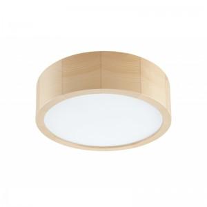 Plafoniera LED EVELINA pin 21W, lemn