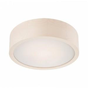 Plafoniera LED alb 12W, 1020lm, 4000K, lemn