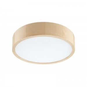 Plafoniera LED EVELINA pin 20W, lemn