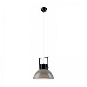 Pendul negru - gri 1x60W E27, sticla