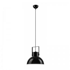 Pendul negru - negru 1x60W E27, sticla