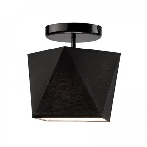 Pendul CARLA negru 1x60W E27, textil