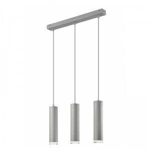 Lustra FRANCO argintiu 3x60W E27, metal