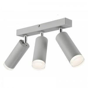 Lustra FELIX argintiu 3x60W E27, metal