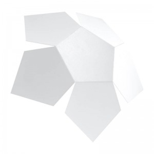 Aplica PENTA alb 2x40W G9, metal