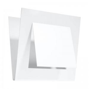 Aplica NAZARIA alb 1x40W G9, metal