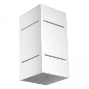 Aplica BLOCCO alb 1x40W G9, aluminiu