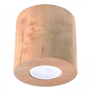 Plafoniera ORBIS lemn natur 1x40W GU10, lemn
