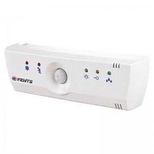 VENTS Dispozitiv de control ventilatoare echipat cu intrerupator fir,timer,senzor umiditate,senzor miscare