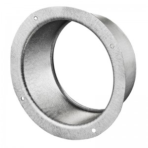 VENTS Flansa metalica fi 250mm- vopsite alb