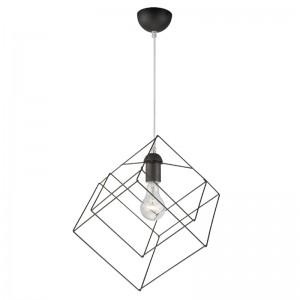 Lustra bare metal cub 1x60W E27, metal