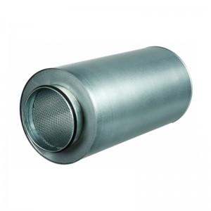 VENTS Atenuator zgomot diam 125mm, lungime 900mm, clasa D , izolatie 50mm