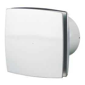 Ventilator diam 100mm gri 100LD alu mat