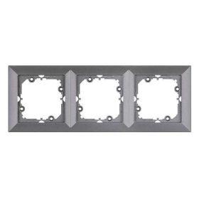 Perla Rama antracit metalic 3 posturi