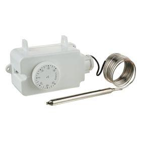 Termostat aer/gaz/lichid -30+30C, 16A, lungime senzor 150mm