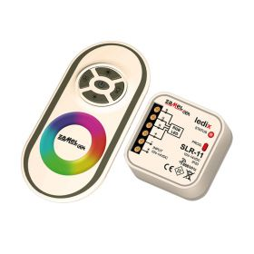 Set radio controler RGB + telecomanda Ledix