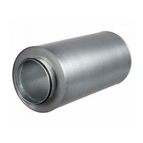 Atenuator zgomot diam 100mm, lungime 600mm, clasa D , izolatie 50mm