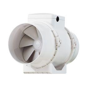 Ventilator axial de tubulatura diam 100mm, cu 2 viteze, 145/187mc/h, cu timer TT 100T