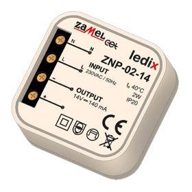 Alimentator Ledix 2W, 14V, IP20