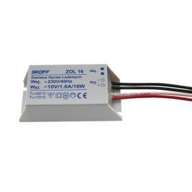 Transformator zol16, 16w, 230v-10v, 1.6a, IP68